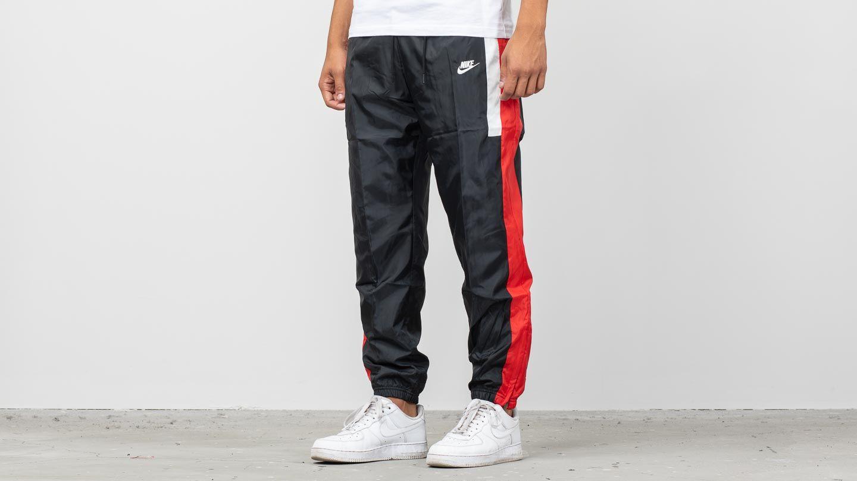 1046aa7471ef4 Nike Sportswear Re-Issue Woven Pants Black/ University Red ...