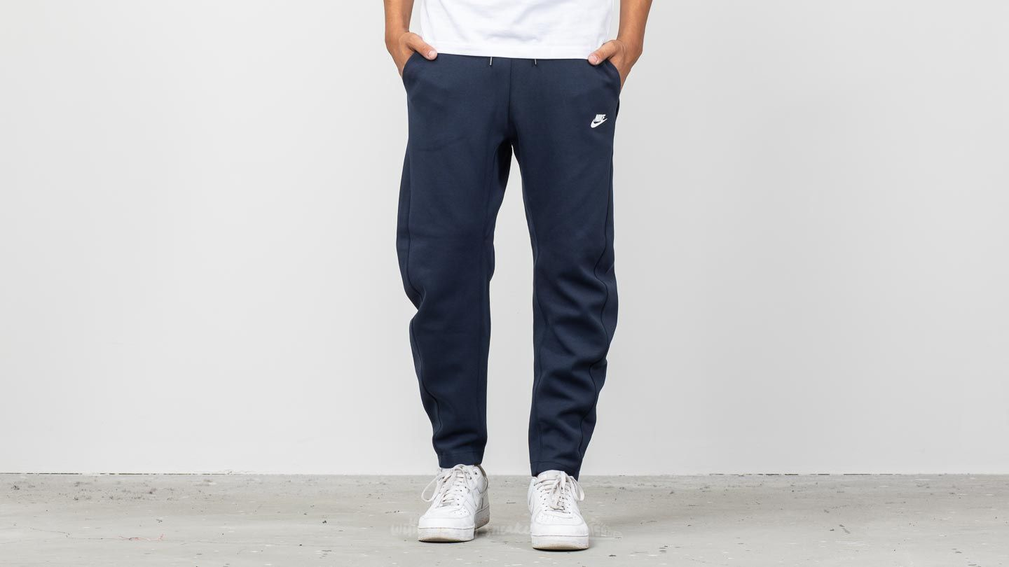 Nike Sportswear Tech Fleece Pants Obsidian White | Footshop