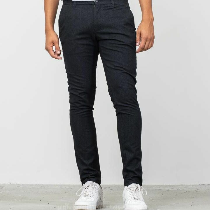 SELECTED Slim Arval Pants Black