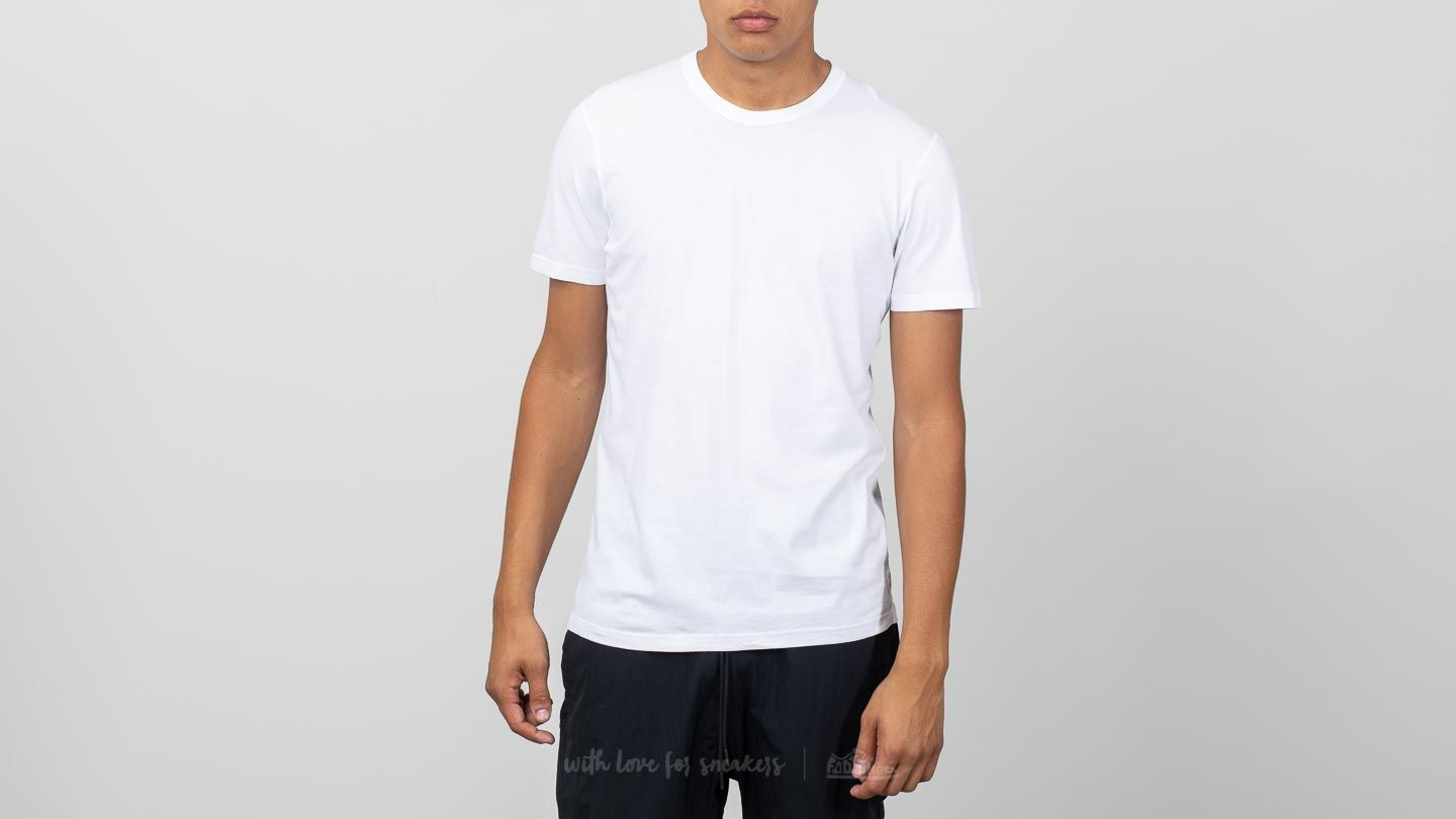 daef6a7a562 Reigning Champ Jersey Short Sleeve Crew Neck Tee White | Footshop