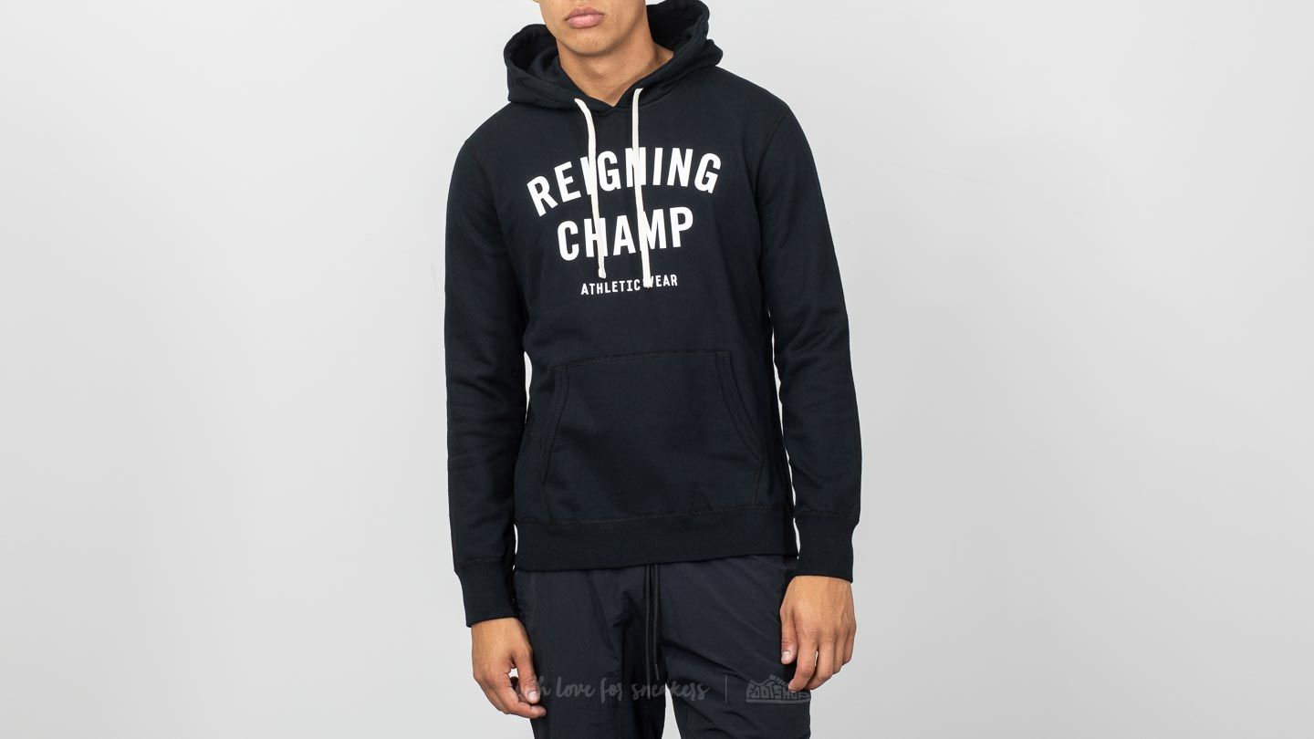 Reigning Champ Terry Gym Logo Hoodie