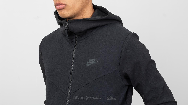 acortar George Eliot rojo  Sweatshirts Nike Sportswear Tech Pack Zip Hoodie Black