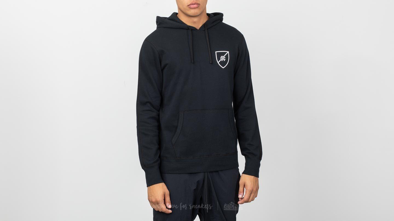Reigning Champ Shield Pullover Hoodie Black/ White za skvělou cenu 1 890 Kč koupíte na Footshop.cz