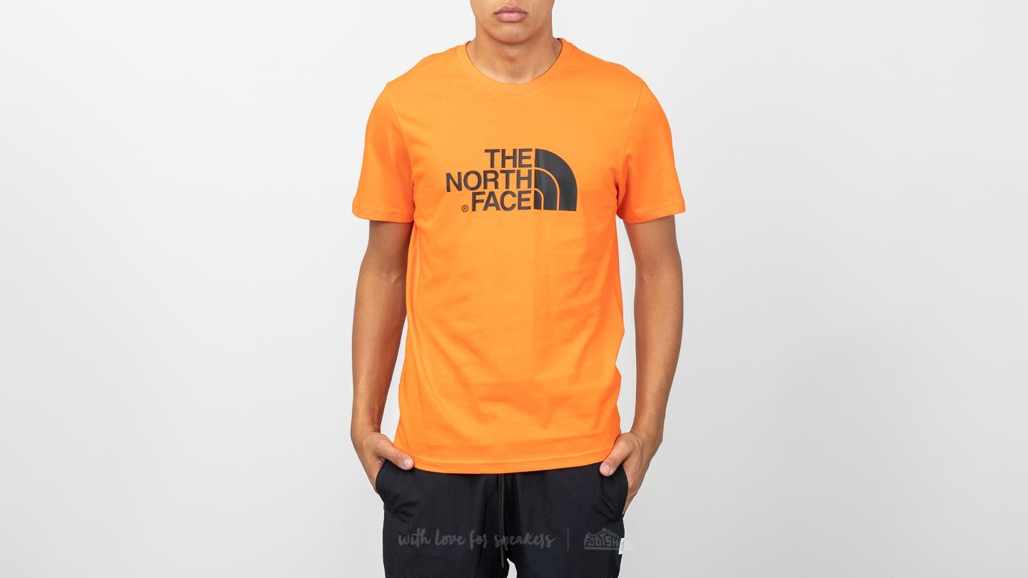 dded7b913 The North Face Shortsleeve Easy Tee Persian Orange | Footshop