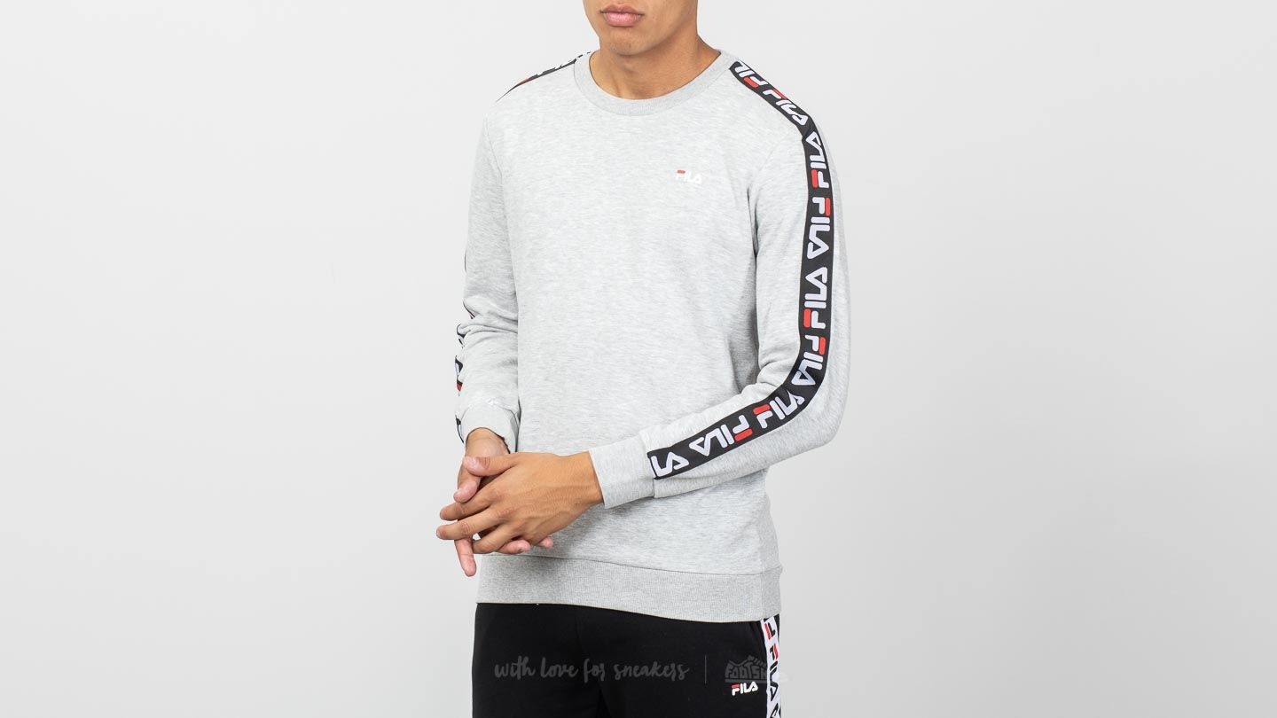 Pullover GreyFootshop Fila Aren Light Crew 3LARj54q