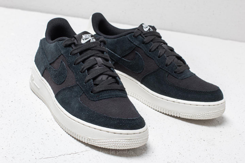 Nike Wmns Air Force 1 '07 Suede Black Black Sail | Footshop