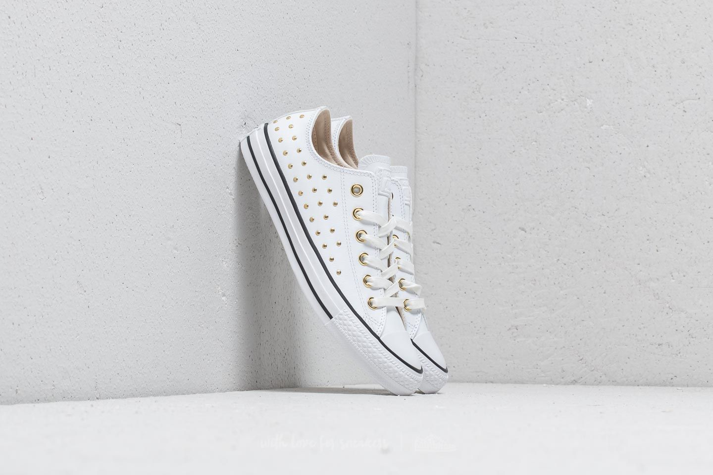 Converse Chuck Taylor All Star OX White  White  Gold at a great price £ aeb6a9354
