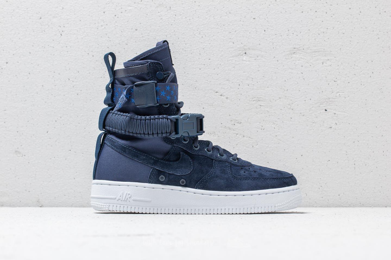 sports shoes 4cdff b6aa6 Nike SF Air Force 1 Wmns Midnight Navy/ Midnight Navy | Footshop