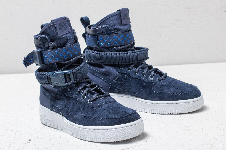 Nike SF Air Force 1 Wmns Midnight Navy Midnight Navy | Footshop