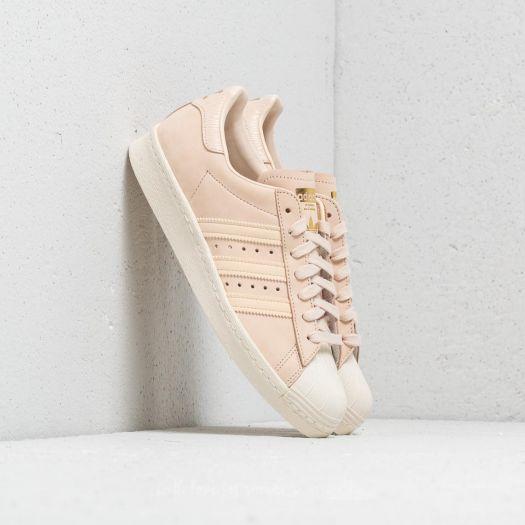 adidas Superstar 80s W Linen Linen Off White   Footshop