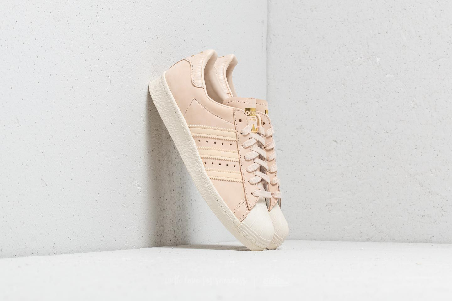 official photos 3103e 2fb33 adidas Superstar 80s W. Linen  Linen  Off White