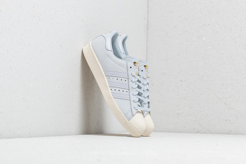 adidas Superstar 80s W Aero Blue/ Aero Blue/ Off White za skvělou cenu 2 890 Kč koupíte na Footshop.cz