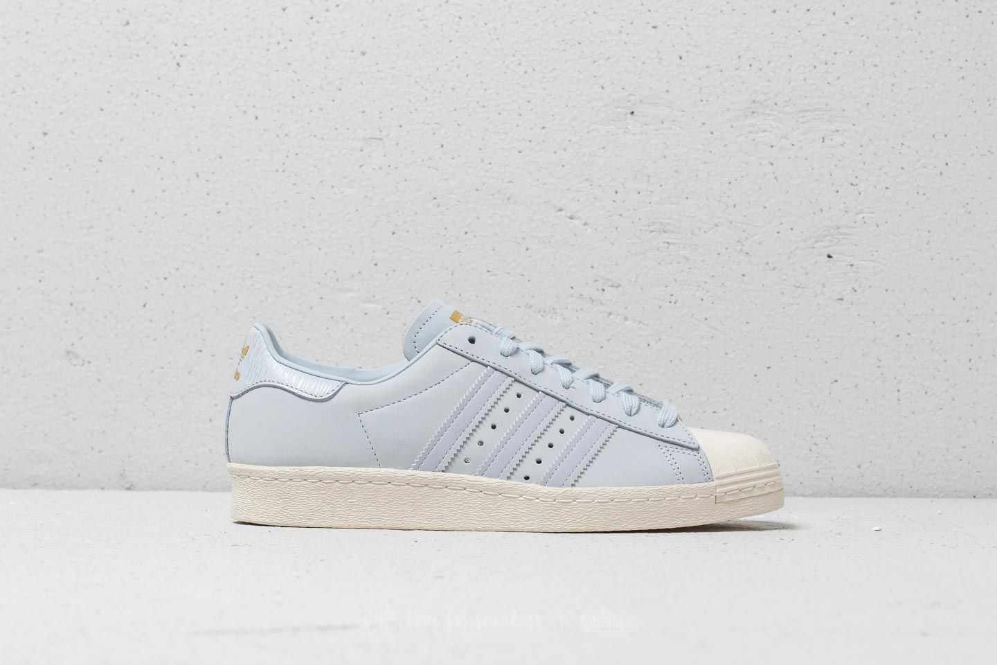 haute couture 67c8c 4a9d8 adidas Superstar 80s W Aero Blue/ Aero Blue/ Off White | Footshop