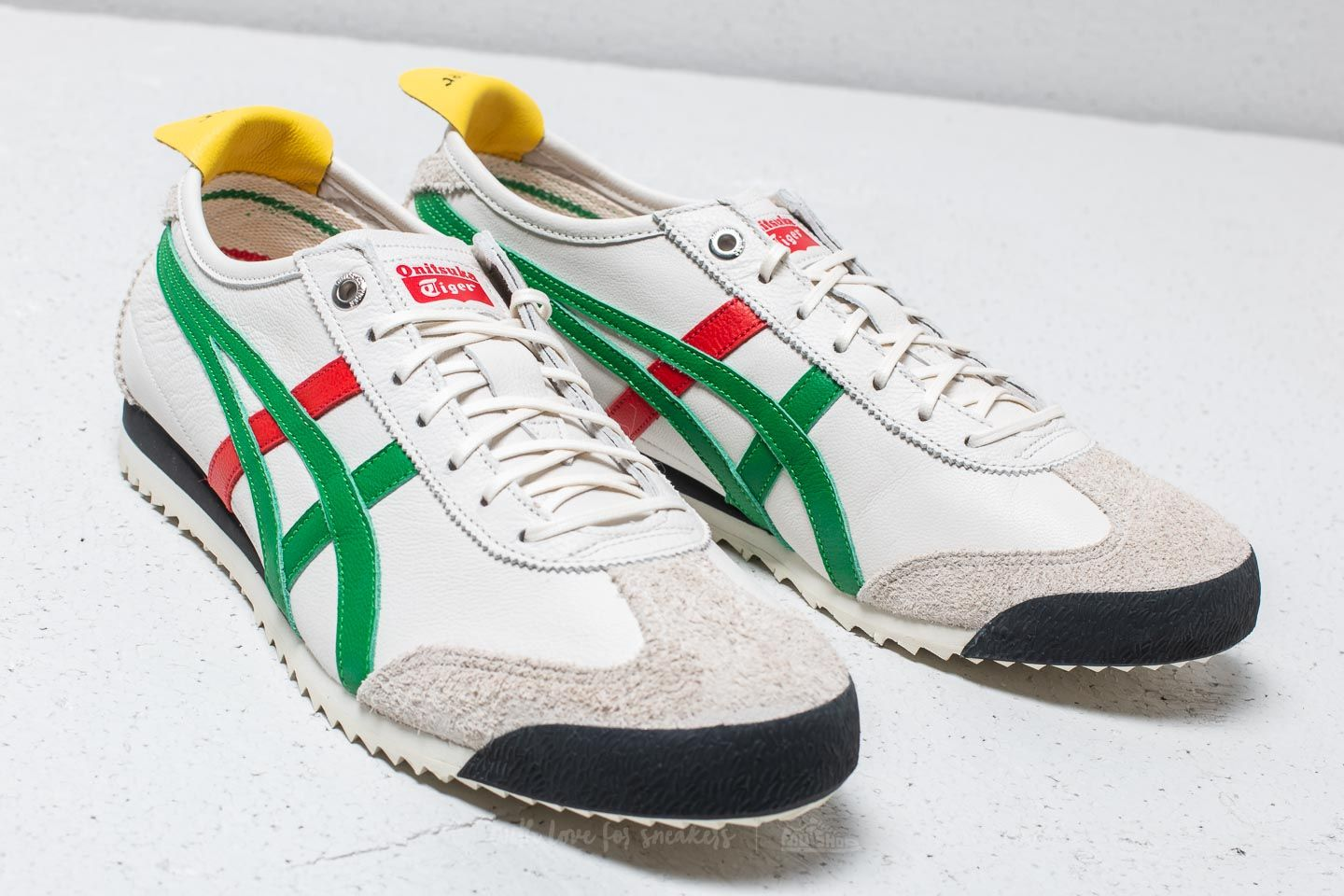 finest selection abbad c5862 Onitsuka Tiger Mexico 66 SD Cream/ Green | Footshop