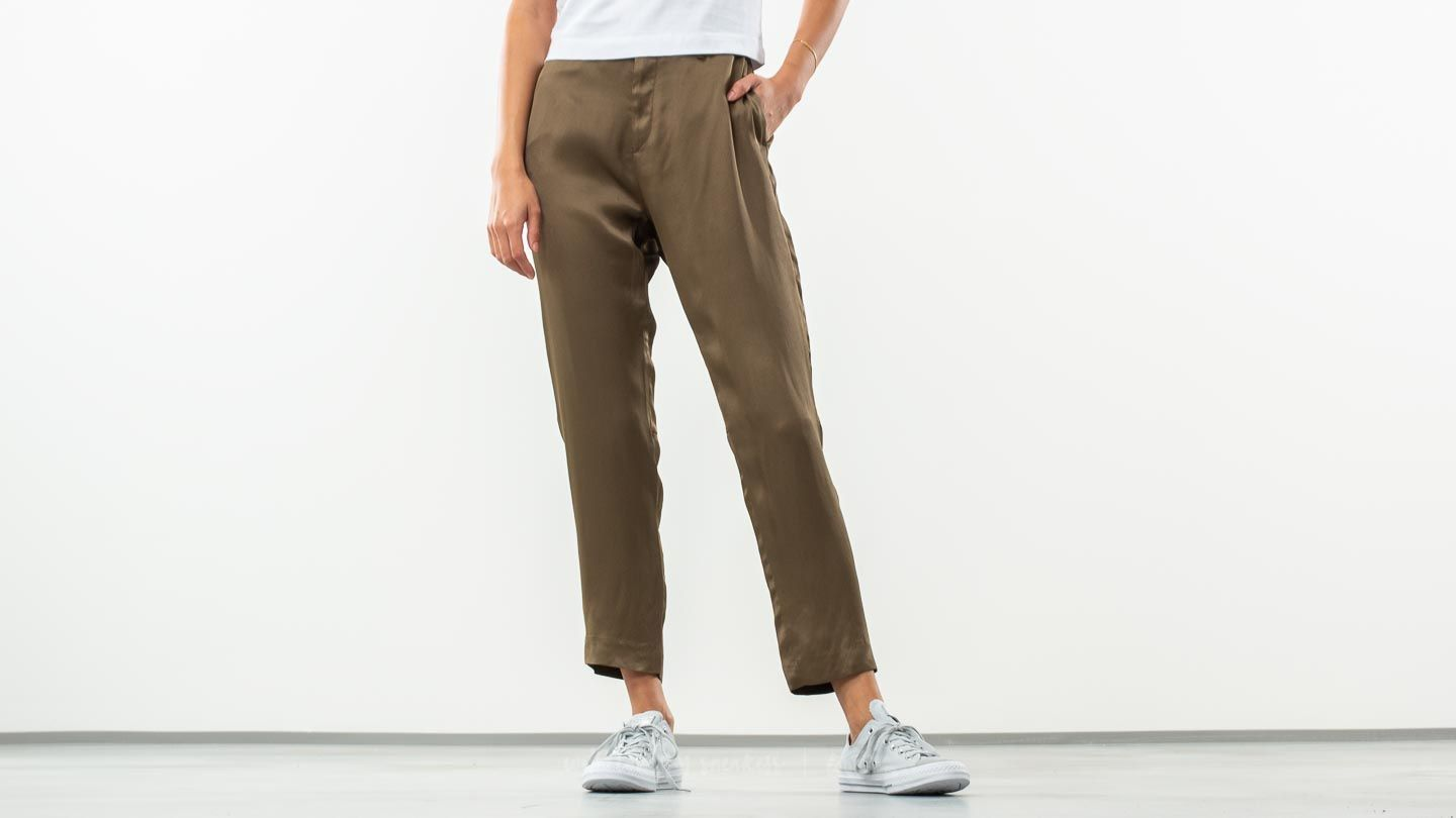 Hosen und Jeans HOPE Krissy Trousers Khaki Green