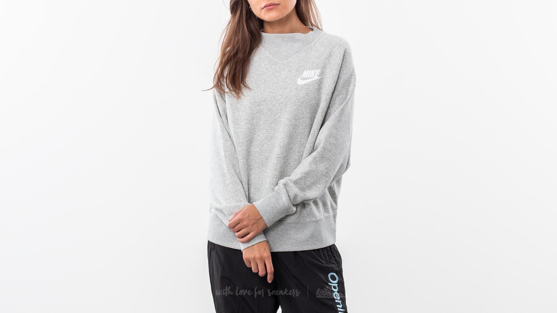nike damen sweatshirt nsw rally grey