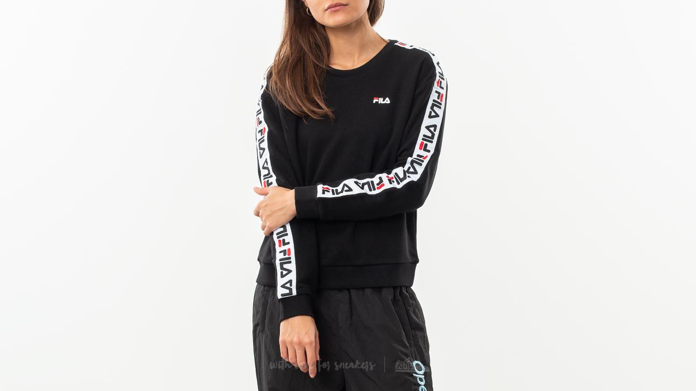 0bca18f35dd Fila Tivka Crew Sweater Black | Footshop