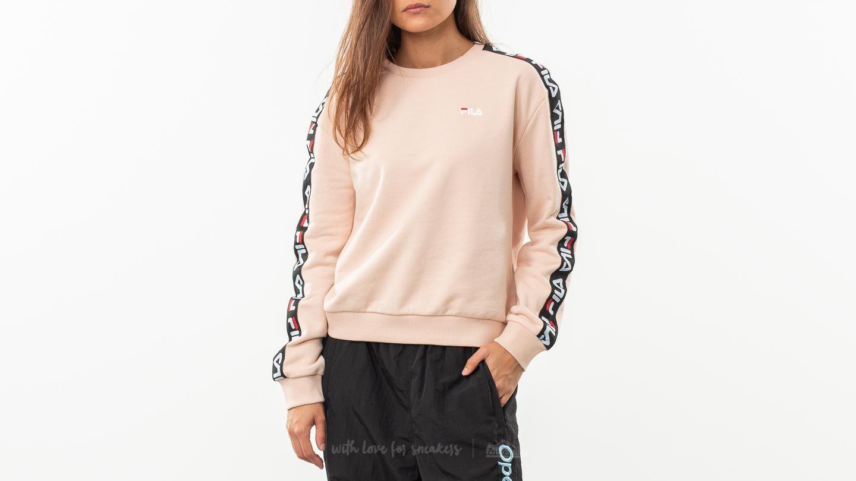 e65746f043d Fila Tivka Crew Sweater Cameo Rose | Footshop