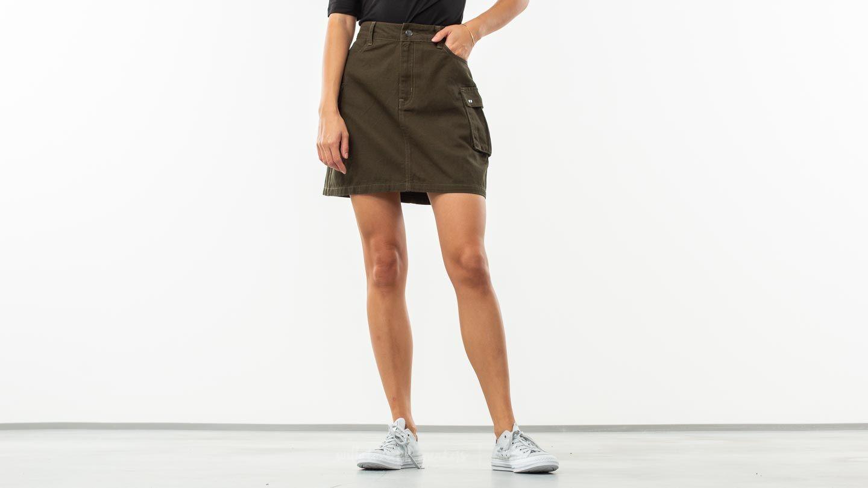 Lazy Oaf Cargo Mini Skirt Khaki za skvělou cenu 1 090 Kč koupíte na Footshop.cz