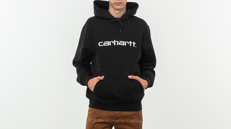 Carhartt WIP Hooded Carhartt BlackWhite Hoodie