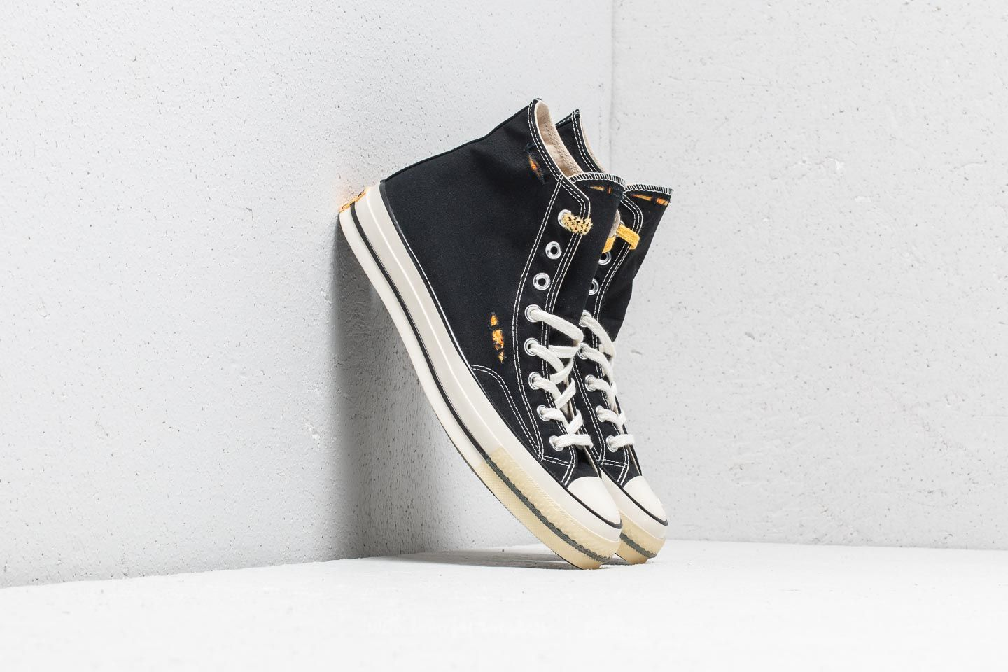 ab053f0ded4 Converse Chuck Taylor All Star 70 Hi Black/ Sunset Gold/ Egret ...