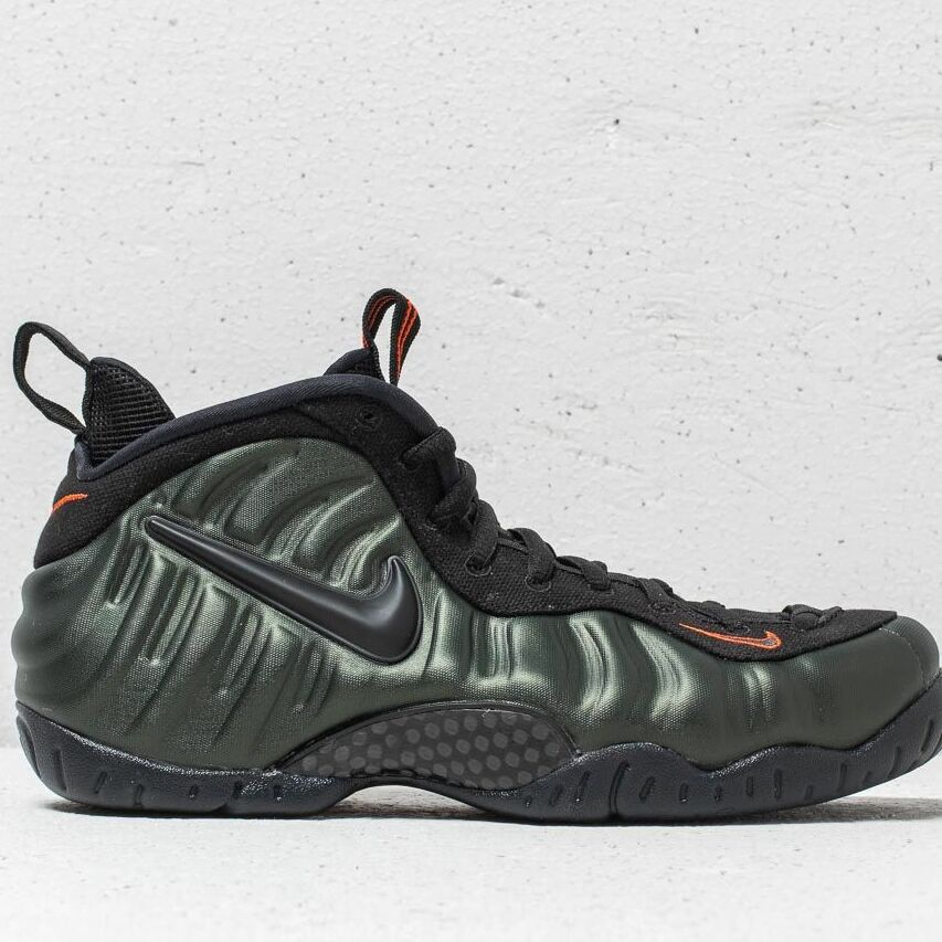 Nike Air Foamposite Pro Sequoia/ Black-Team Orange, Green