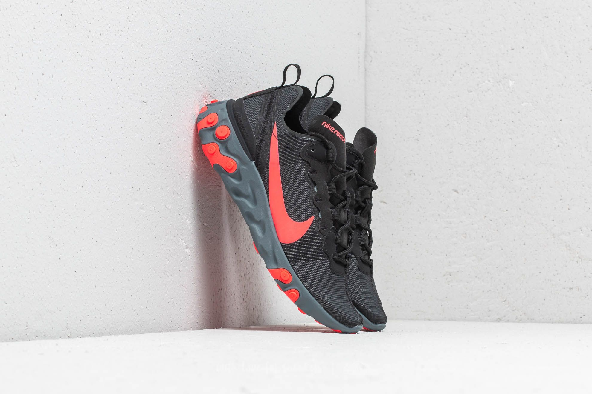 8f6cfbcabd923e Nike W React Element 55 Black  Solar Red-Cool Grey at a great price