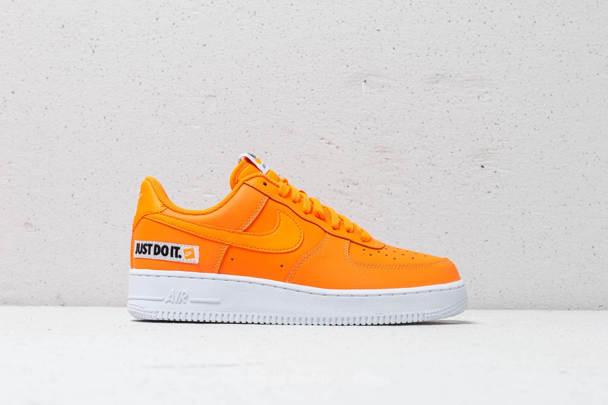 Nike Air Force 1 ´07 LV8 JDI Leather Total Orange Total Orange   Footshop
