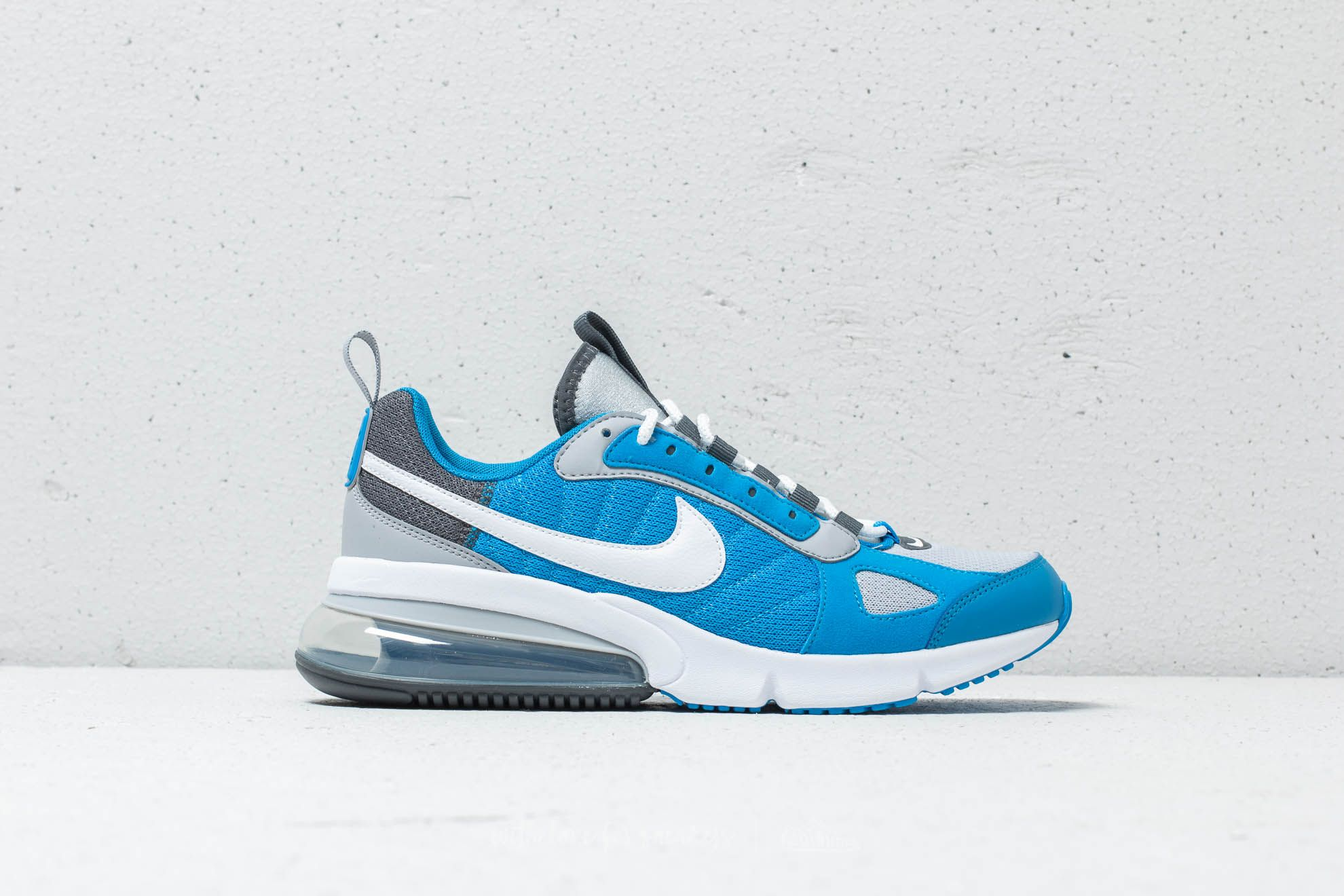 low priced 45600 ad8aa Nike Air Max 270 Futura Wolf Grey  White-Photo Blue at a great price