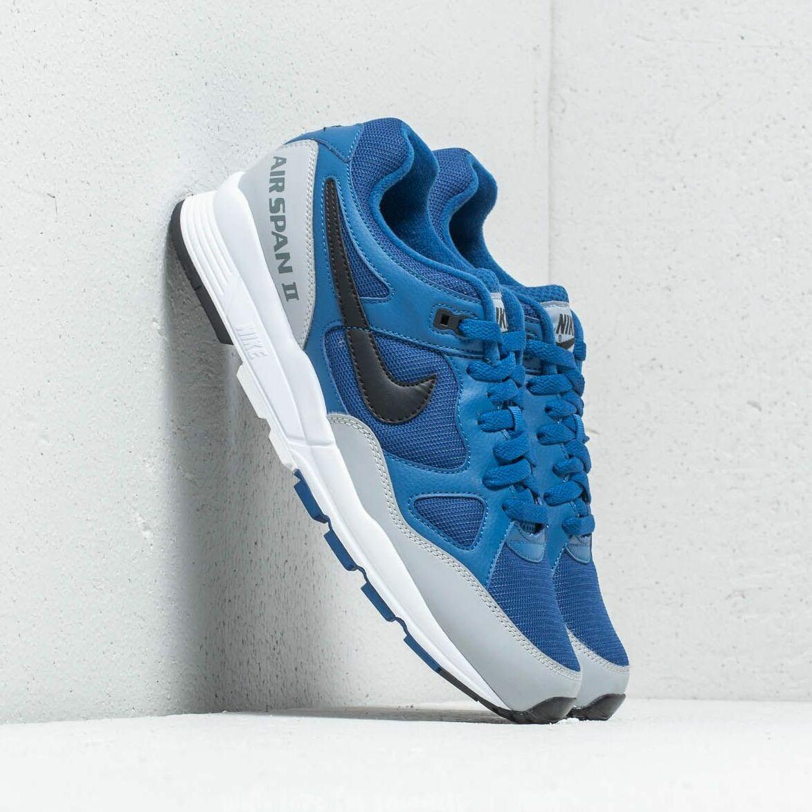 Nike W Air Span II Gym Blue/ Black-Wolf Grey EUR 43