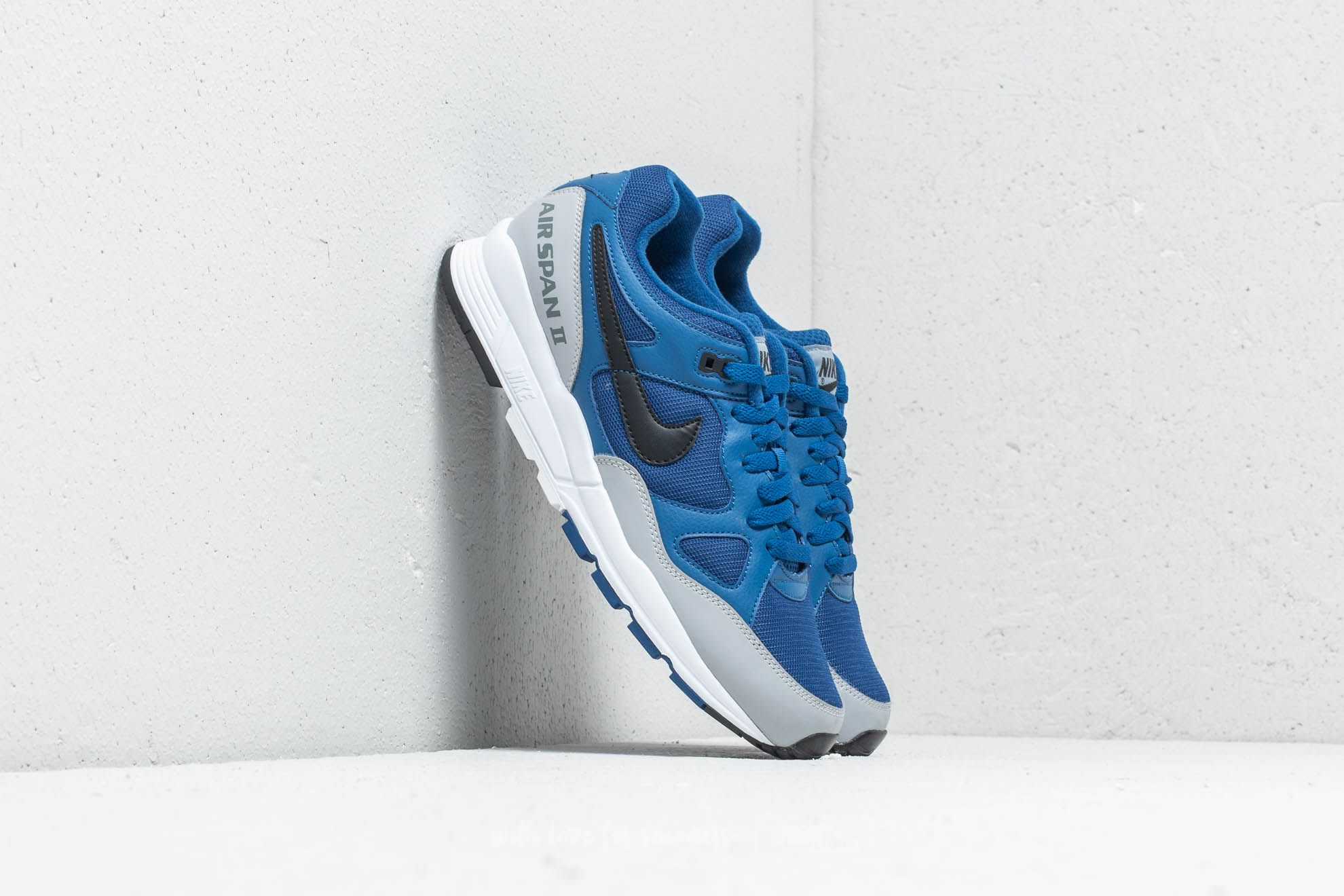 Nike W Air Span II Gym Blue/ Black-Wolf Grey za skvělou cenu 2 690 Kč koupíte na Footshop.cz