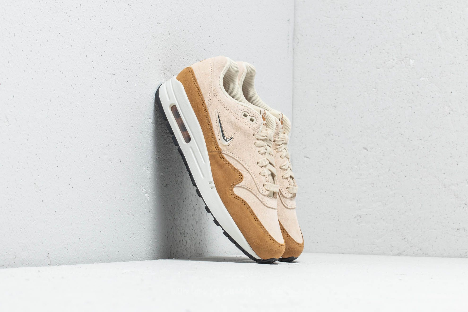 competitive price 8173f f5206 Nike Wmns Air Max 1 Premium SC Beach  Metallic Gold Grain at a great price