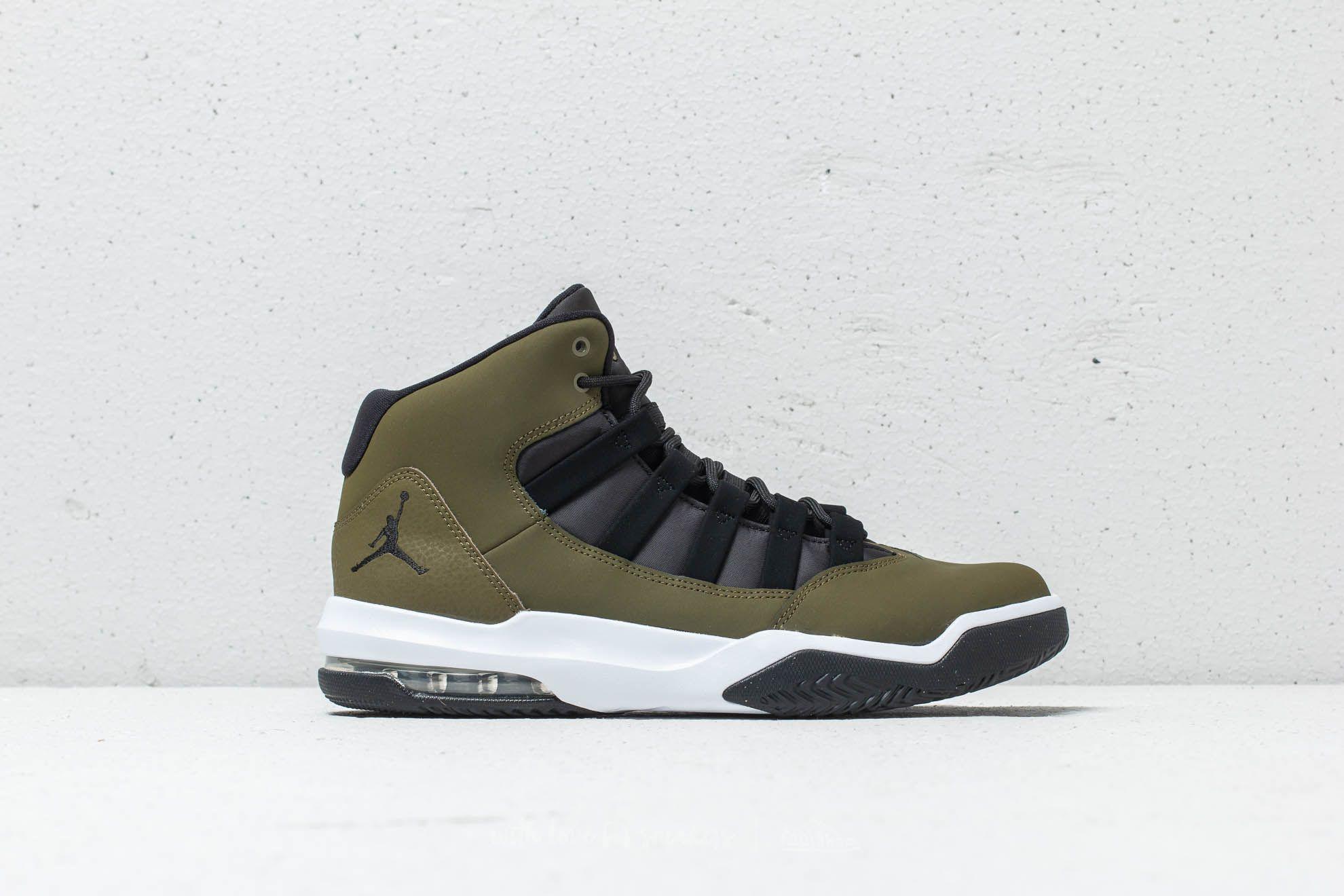shoes Jordan Max Aura Olive Canvas