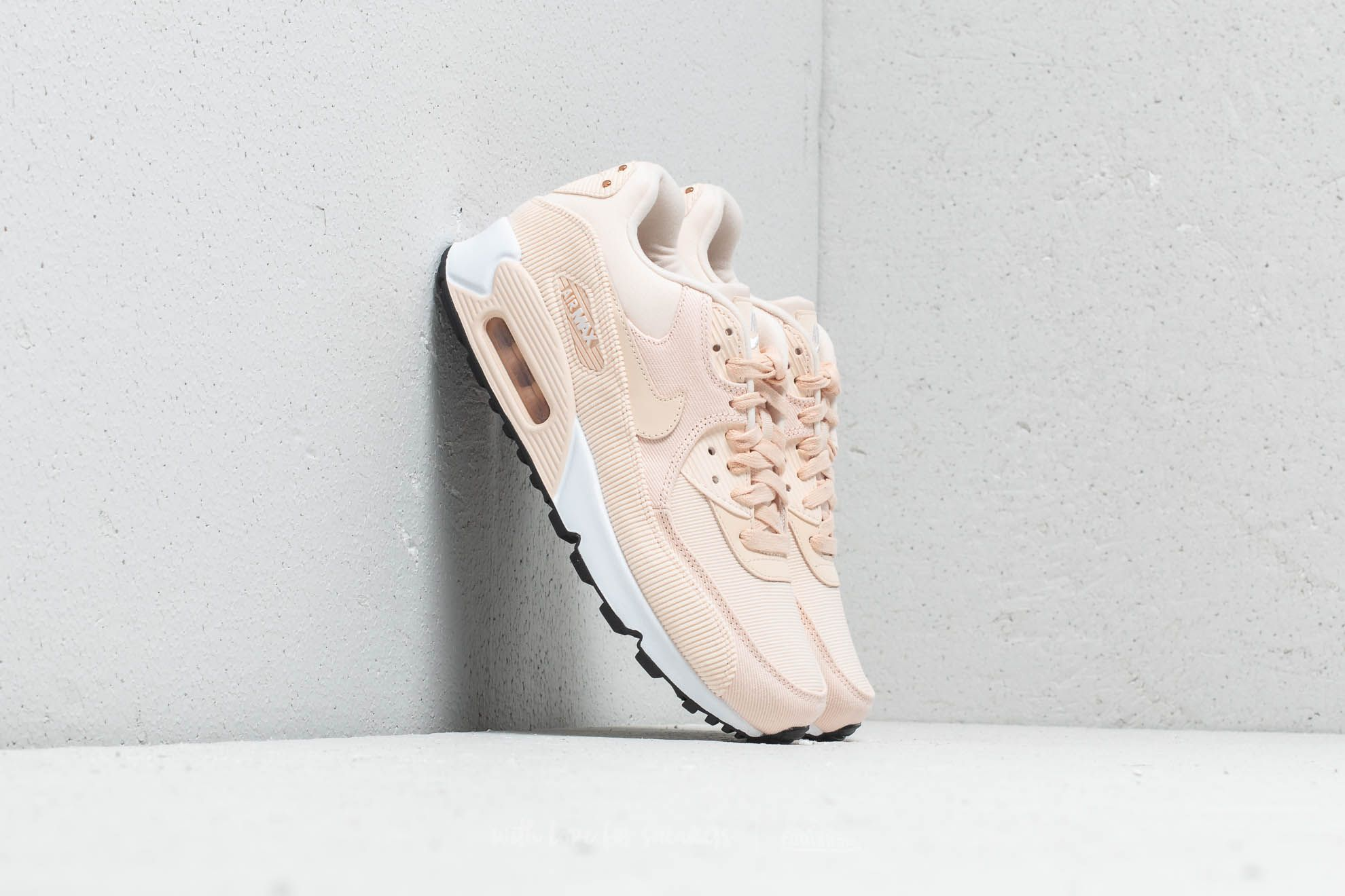 40cd8bb641b Nike WMNS Air Max 90 LEA Guava Ice  Guava Ice-Black at a great