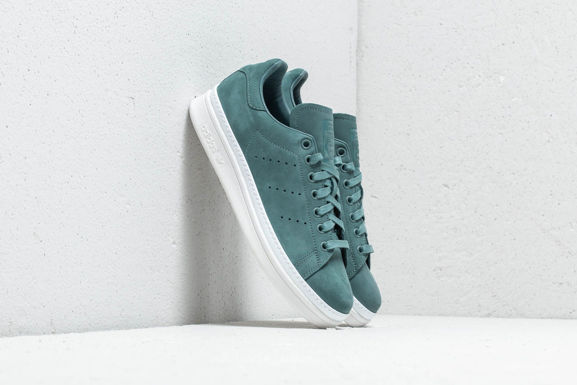 adidas Stan Smith New Bold W Raw Green  Raw Green  Cloud White a prezzo 948080612f612