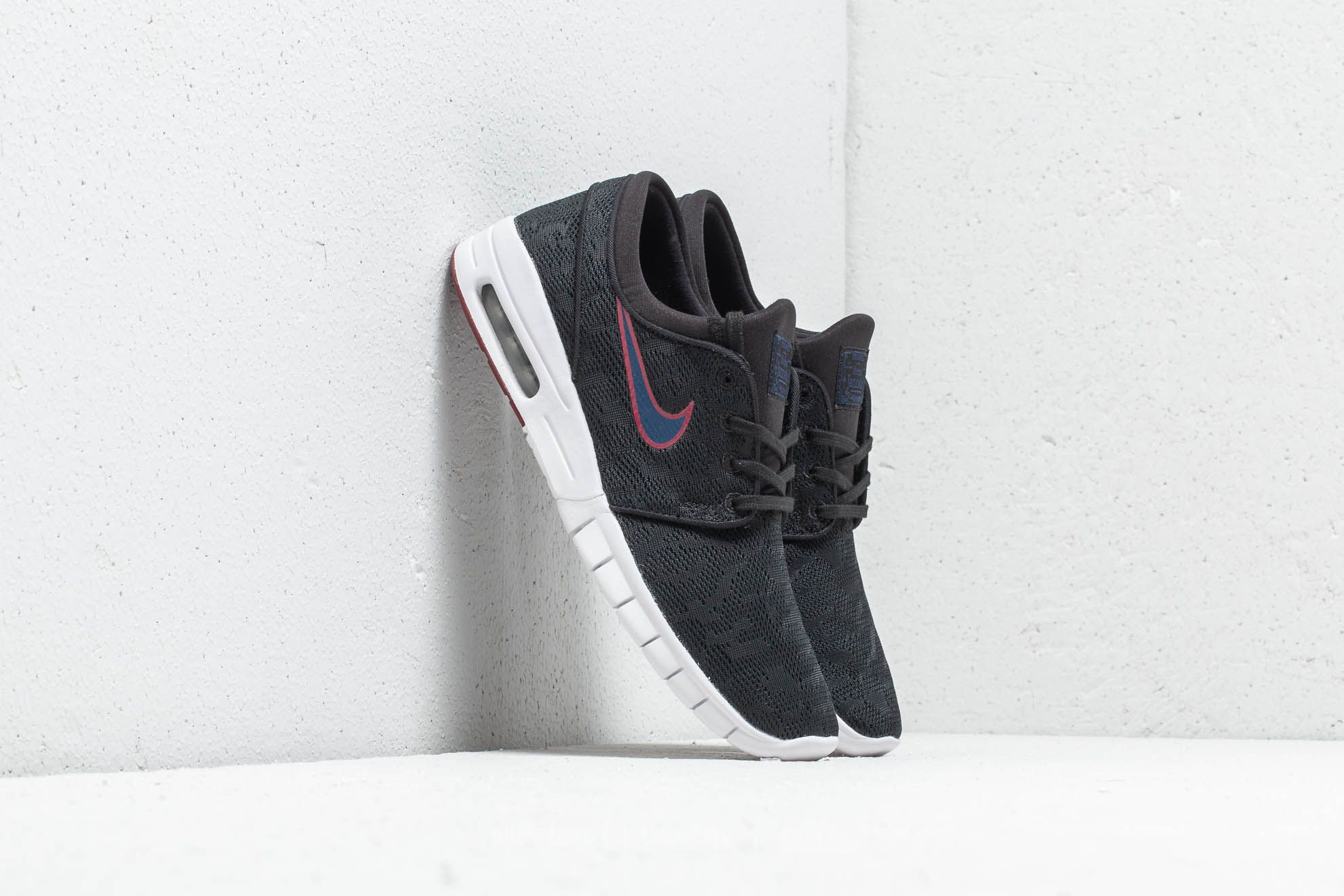 Nike SB Stefan Janoski Max Black  Blue Void at a great price 128 € buy 7210b2bfb7e7