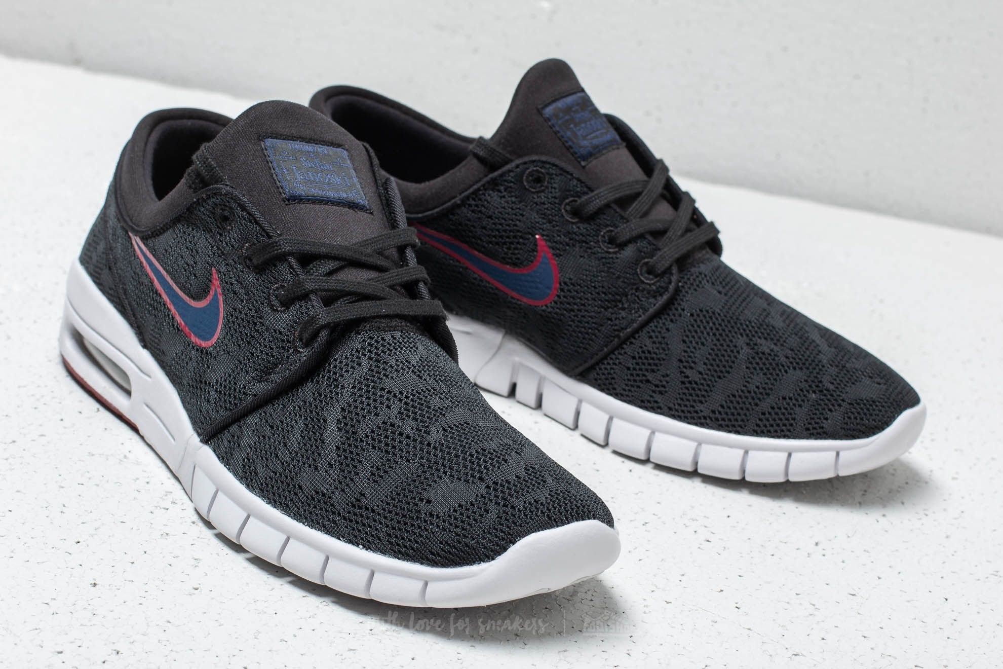 Nike SB Stefan Janoski Max Black  Blue Void at a great price 128 € buy f13691669a