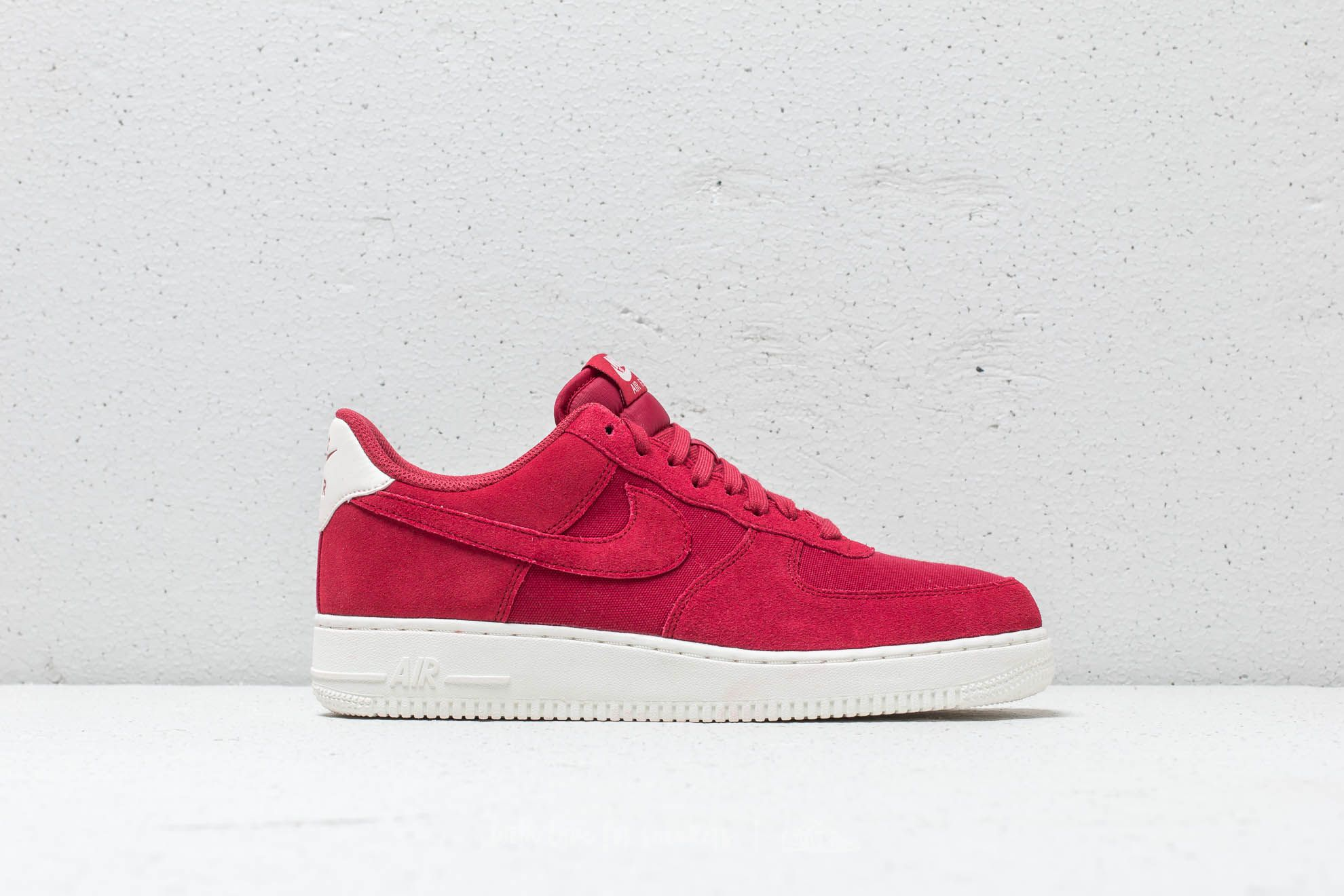Nike Air Force 1  07 Suede Red Crush  Red Crush-Sail at a dd463bb3d