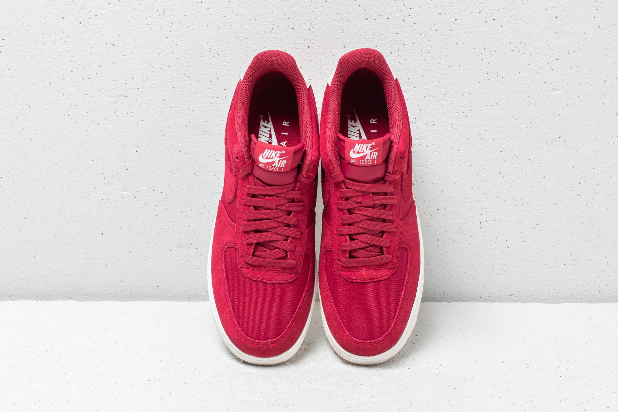 Nike Air Force 1 '07 Suede Red Crush Red Crush Sail | Footshop
