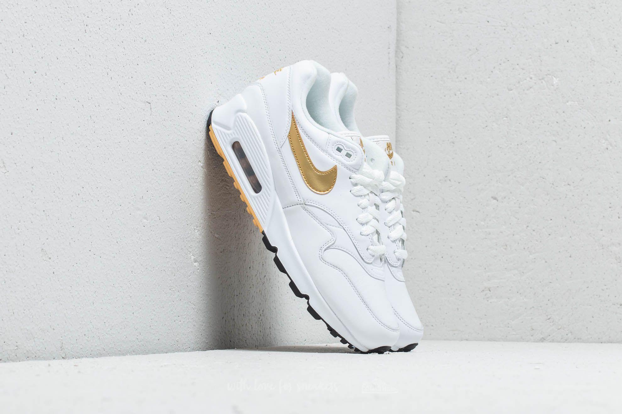 buy online 77dd2 d82a1 Nike Air Max 90  1. White  Metallic ...