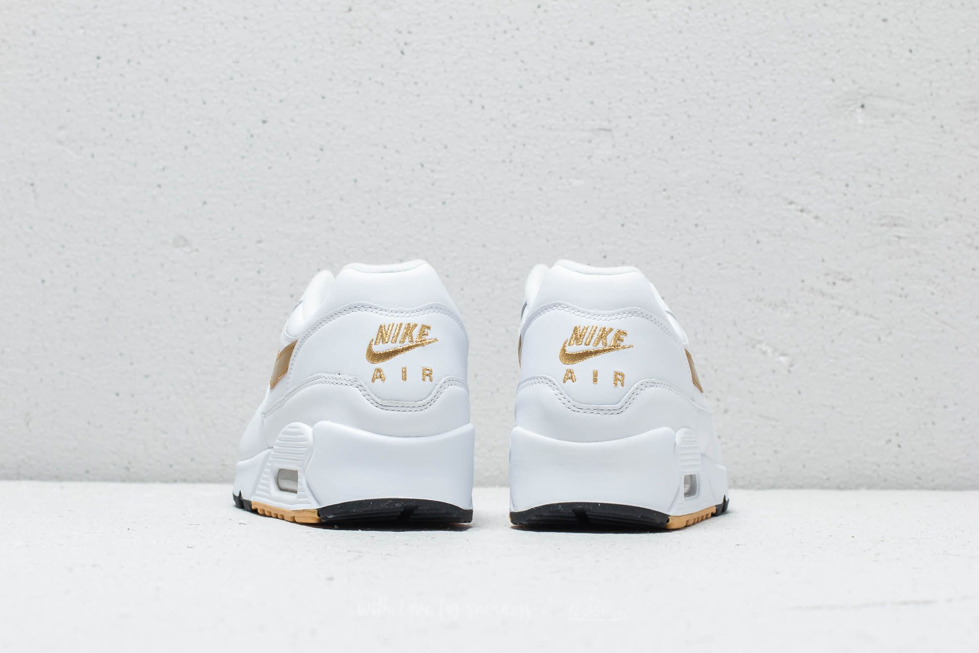 designer fashion c2b40 7616a ... store nike air max 90 1 white metallic gold black at a great price  67d1d 5423c