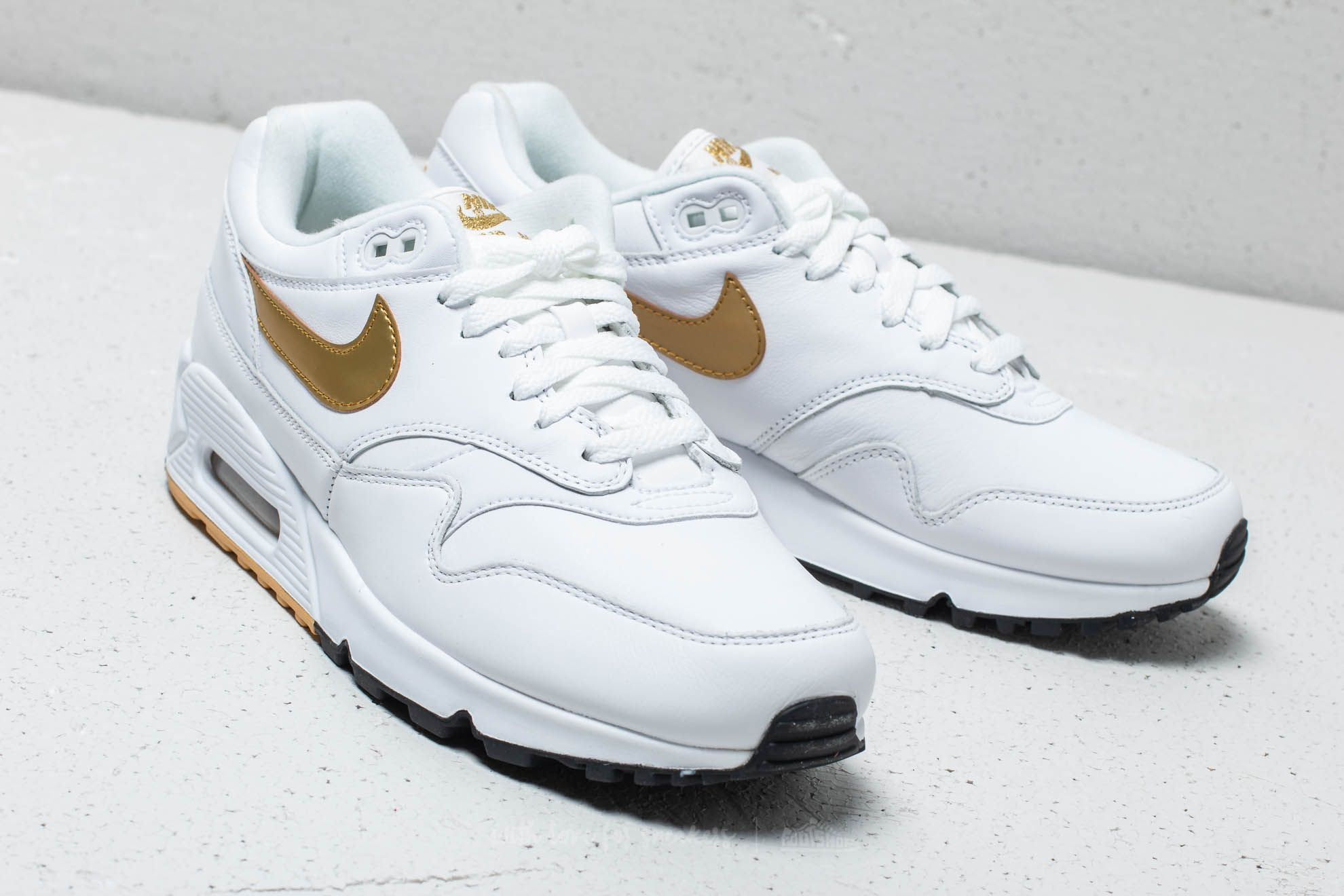 on sale dcefc 2979f ... store nike air max 90 1 white metallic gold black at a great price  8de17 0f663