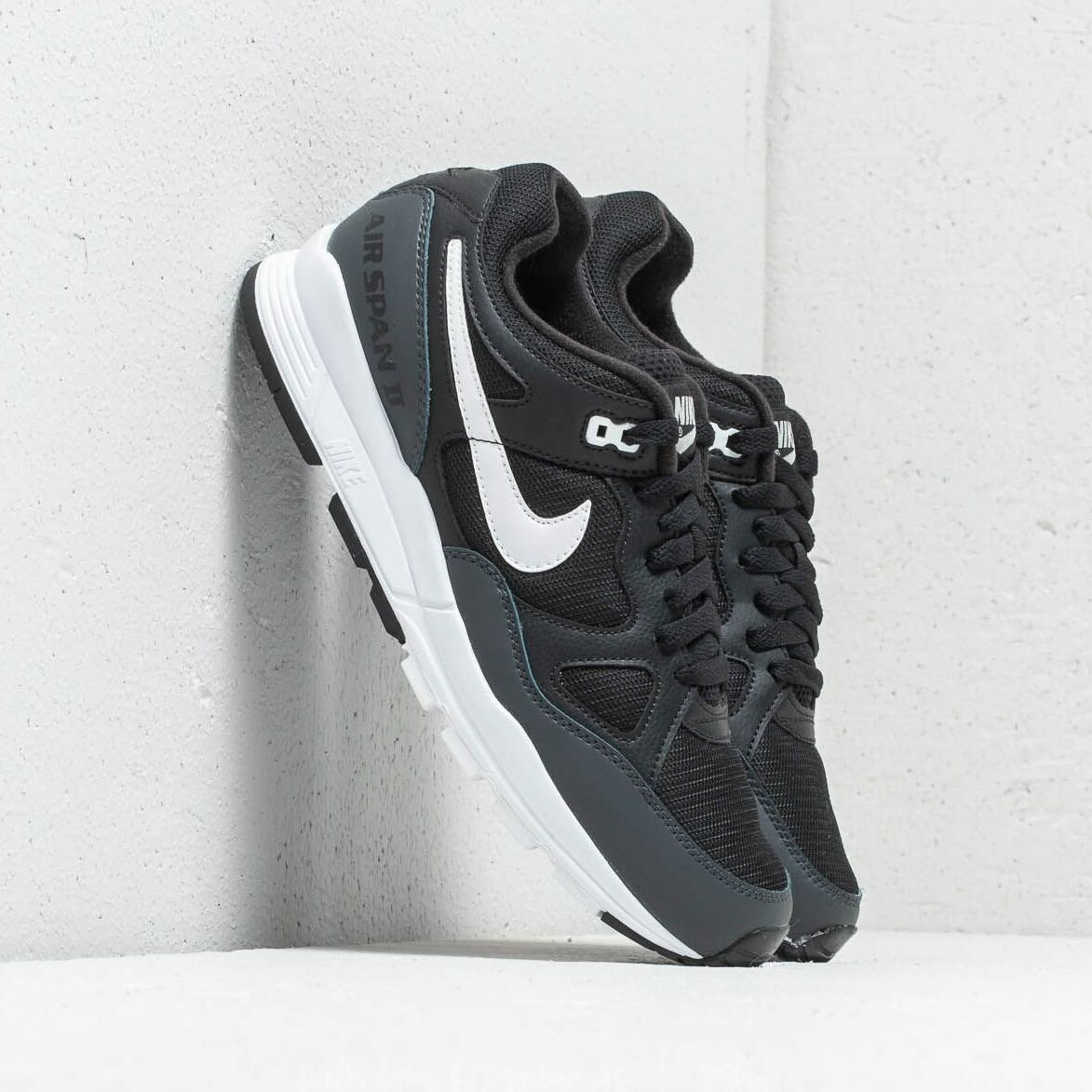 Nike Air Span II Black/ White-Anthracite EUR 41
