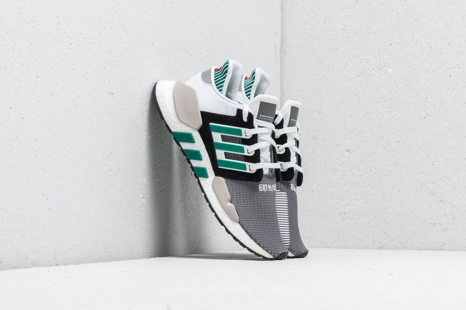 finest selection 7ff42 66fea adidas EQT Support 9118 Core Black Clear Granite Sub Green at a