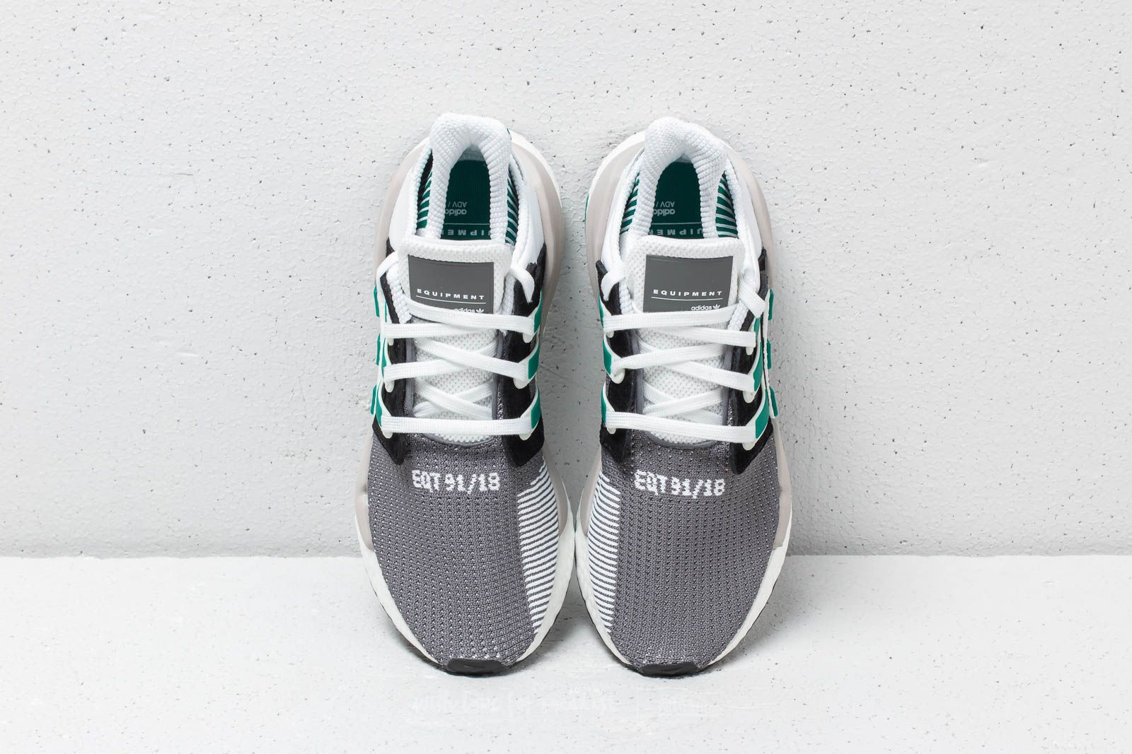 finest selection 76fdb 205e7 adidas EQT Support 9118 Core Black Clear Granite Sub Green at a