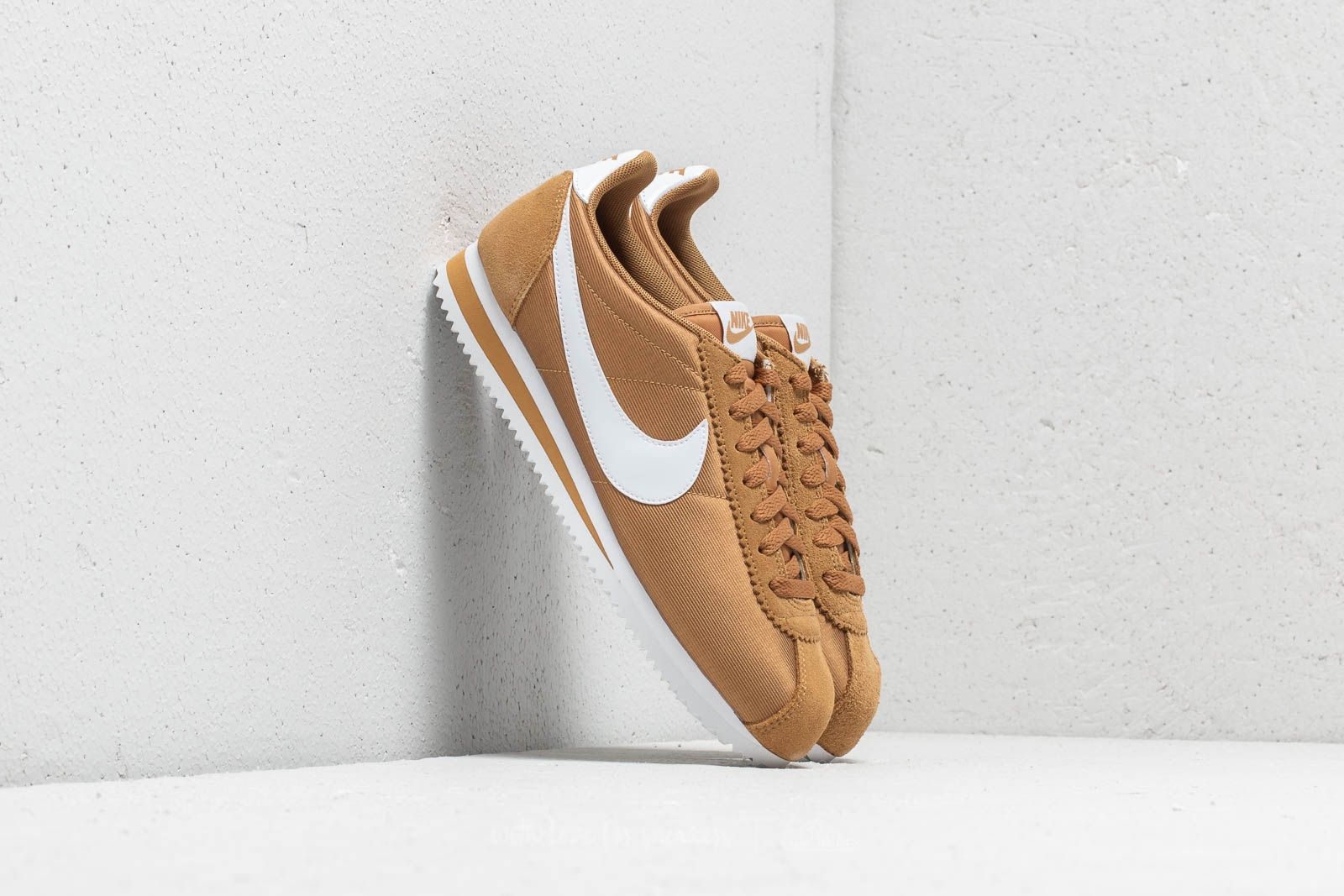 b88c1fea304 Nike Wmns Classic Cortez Nylon Muted Bronze  White