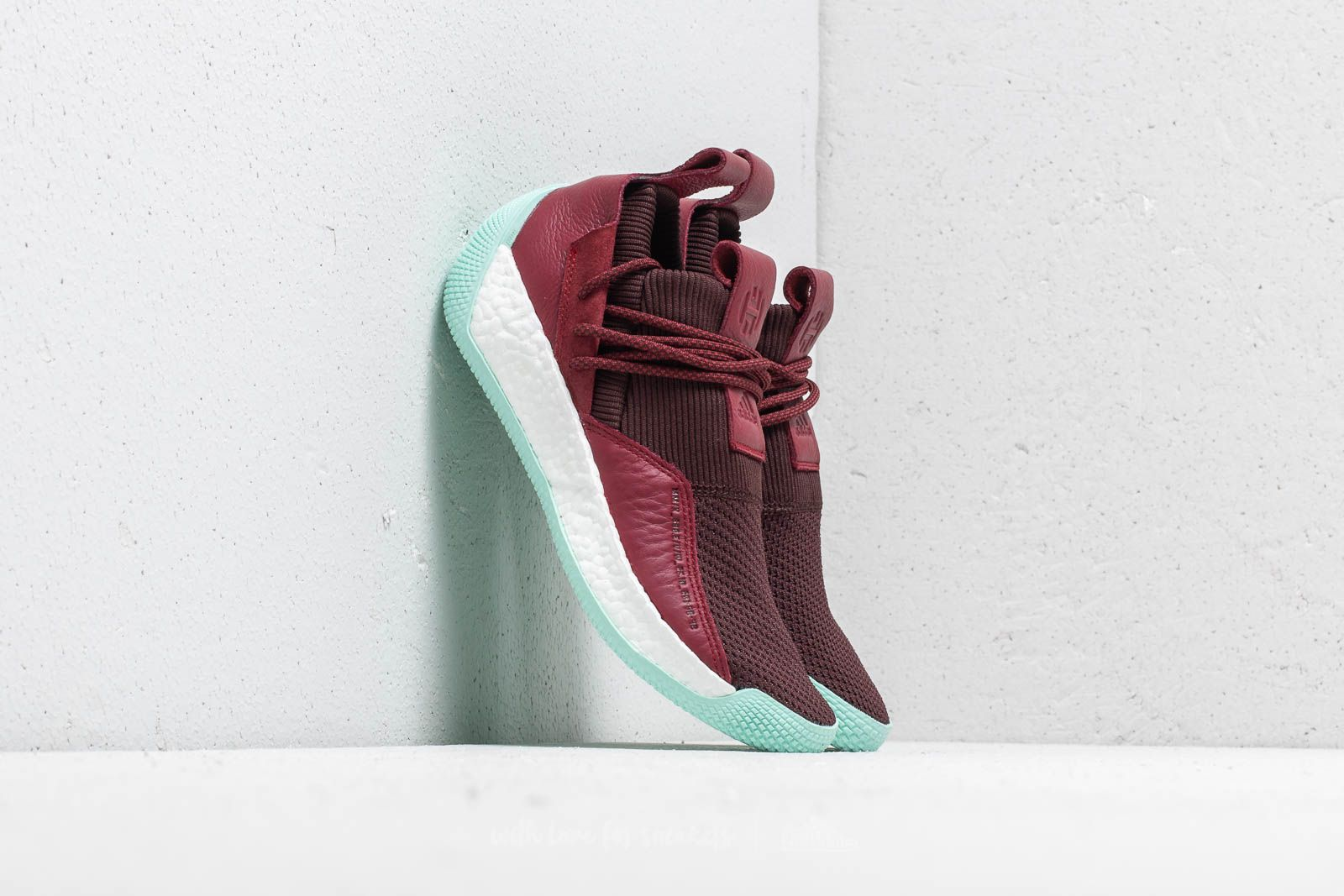 77b297367aed adidas Harden LS 2 Lace Night Red/ Noble Maroon/ Clear Mint | Footshop