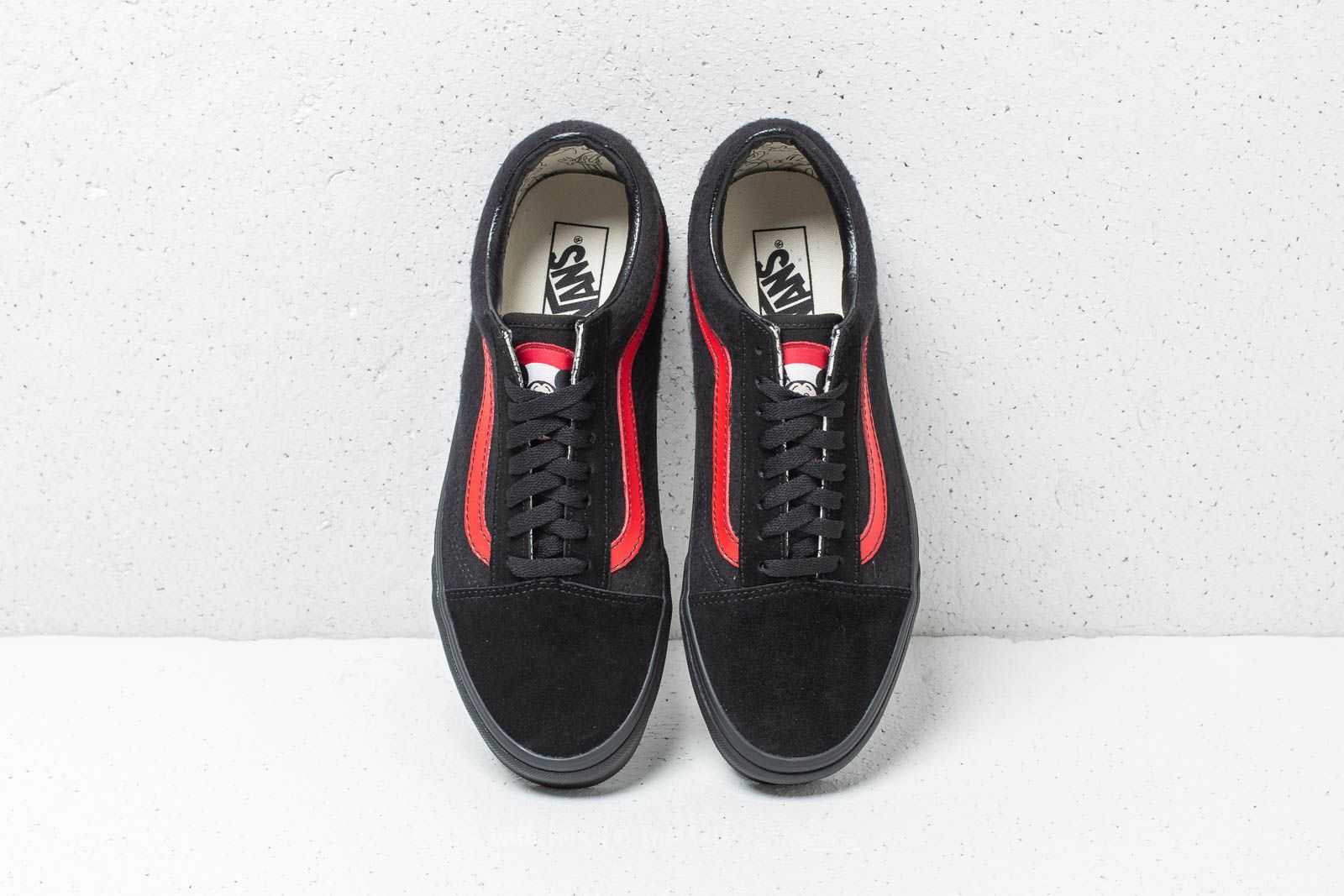 Vans X Disney Mickey Mouse Club Old Skool Black Red | Footshop