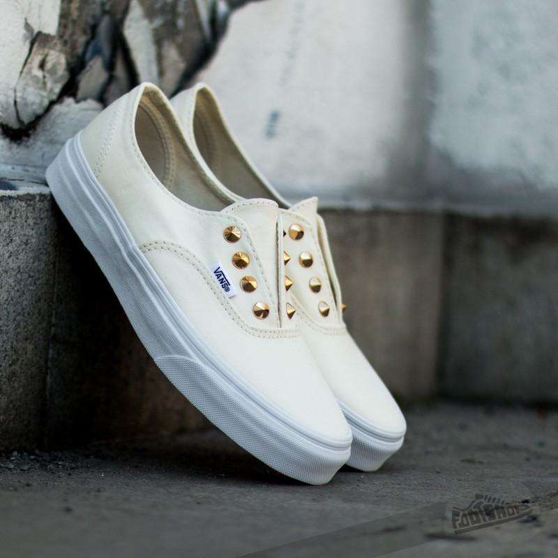 6e10582f6a Vans Authentic Gore (Studs) White