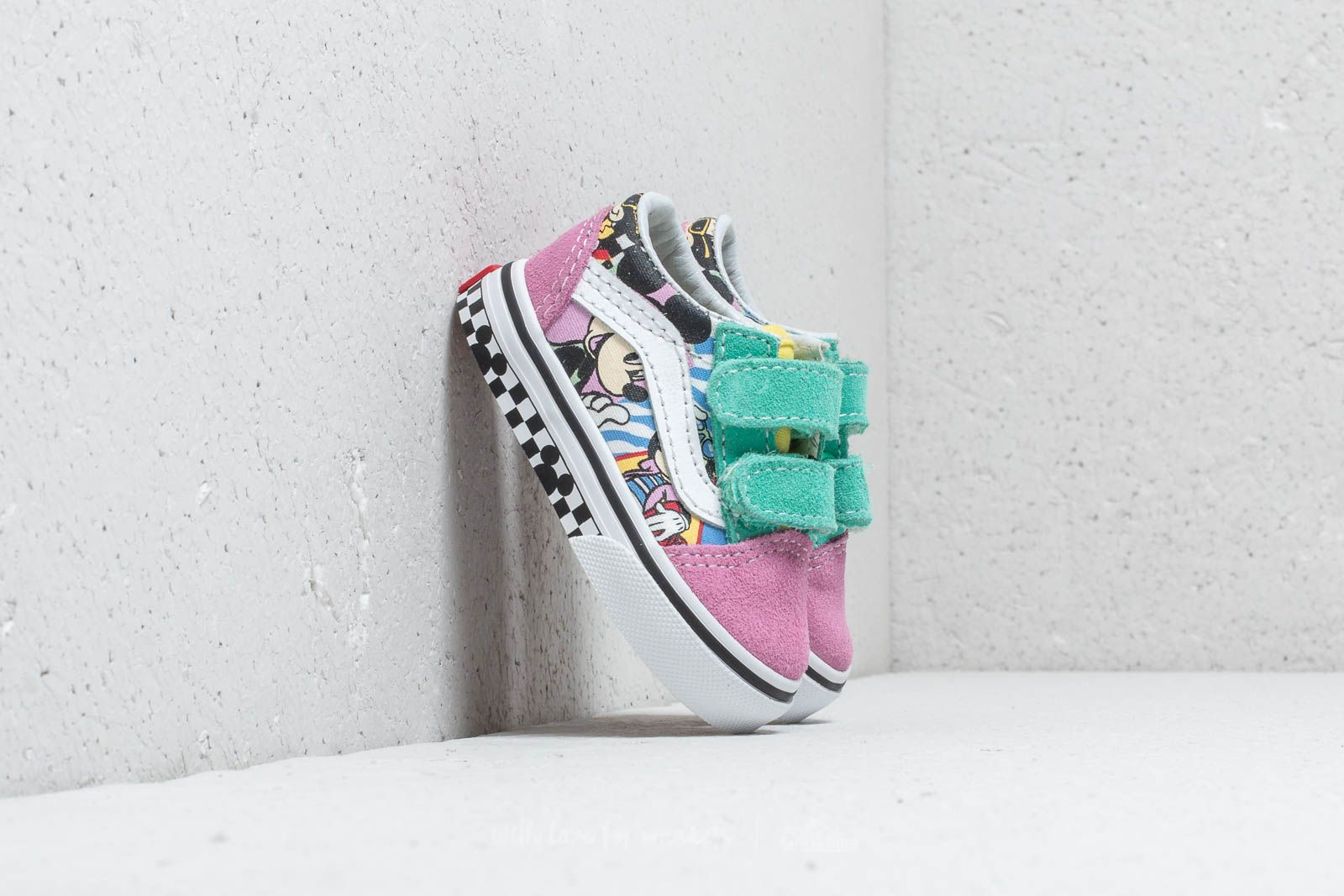 Vans x Disney T Old Skool V 80`s Mickey True White | Footshop